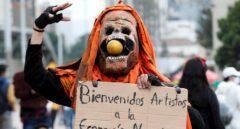 Sin foso ni escenario: la música toma la batuta de las protestas colombianas