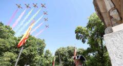 La atípica celebración del Día de las Fuerzas Armadas, en imágenes