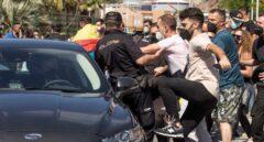 Recibimiento a Pedro Sánchez en Ceuta.