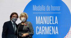 Almeida se deshace en elogios hacia Manuela Carmena
