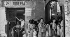 Cola en el barrio Roig 1958- Alicante