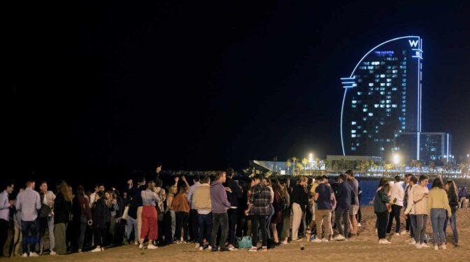 Noche de viernes en Barcelona: desalojadas casi 4.000 personas