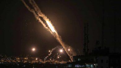 Noche de fuego en Gaza