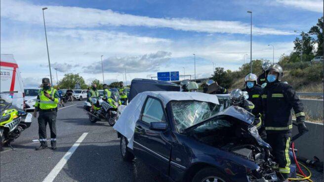 Accidente M50 Madrid
