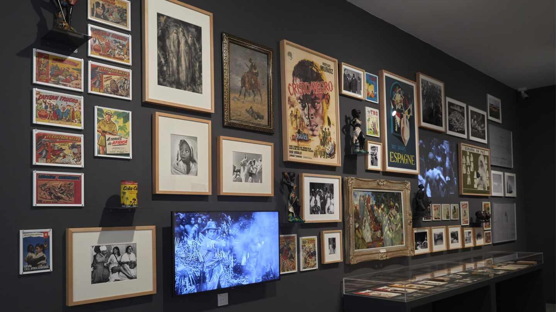 Instalación 'Y coloniales…', de Rogelio López Cuenca
