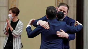 Aragonès, investido 'president' con el apoyo de Junqueras y Torra