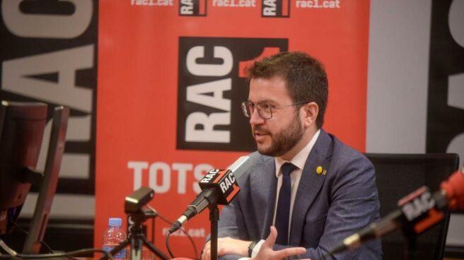 Pere Aragonès, entrevistado en RAC1