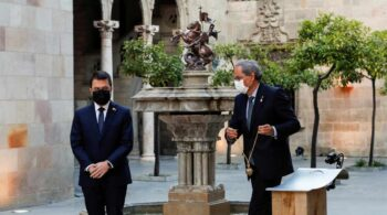 """Aragonés promete """"un progreso que desembocará en la república catalana"""""""