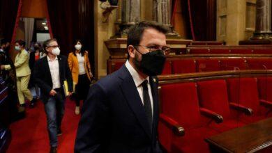 Aragonès promete culminar la independencia con un referéndum a la escocesa