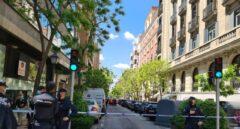 Heridos un joyero y un policía en un atraco con rehenes en Madrid