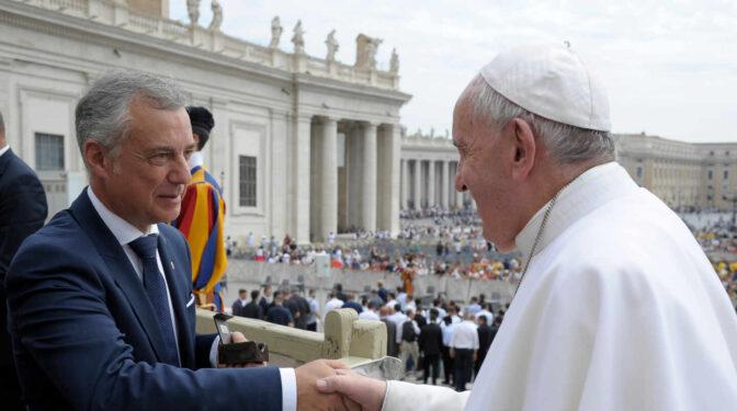 'Share', la acogida de inmigrantes que Urkullu presentó al Papa y Sánchez aplica