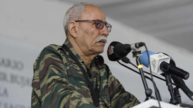 Brahim Ghali ya se encuentra de vuelta en Argelia