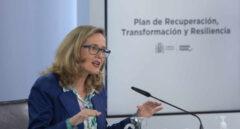 Calviño dice que la mochila austriaca no cuenta con el apoyo de los agentes sociales