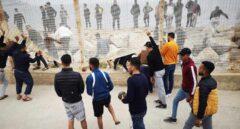 VÍDEO | Lluvia de piedras contra la Policía en la frontera