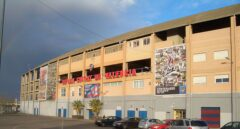 Estadio Ciutat de Valencia.