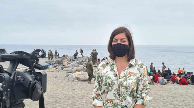 """Testigo directo desde Ceuta: """"Nunca había pasado nada similar"""""""