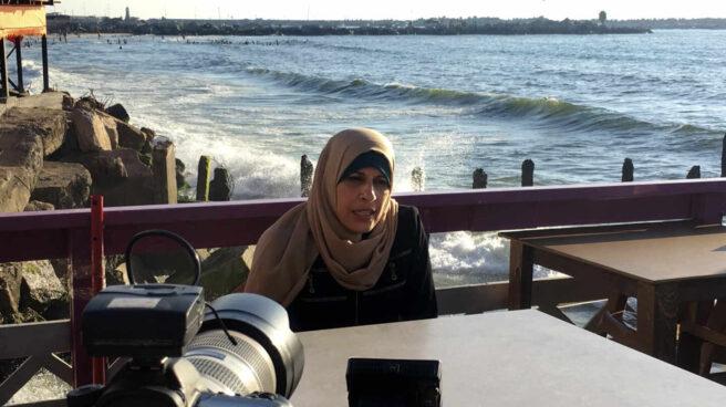 Una de las mujeres con cáncer del documental 'Condenadas en Gaza', de Ana Alba y Beatriz Lecumberri