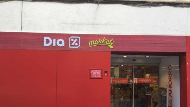 Imagen de un supermercado Dia.