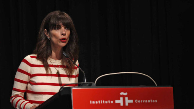 La actriz Maribel Verdú lee una declaración en favor de los Objetivos de Desarrollo Sostenible (ODS).