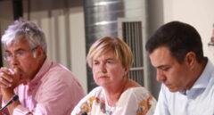 Reunión del secretario general del PSOE y presidente del Gobierno en funciones, Pedro Sánchez, con organizaciones de lucha contra la despoblación