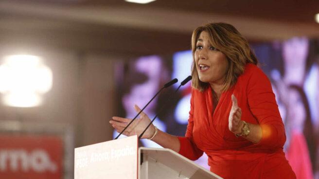 La secretaria general del PSOE-A, Susana Díaz, en una imagen de archivo.