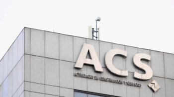 ACS aumenta un 3,8% su beneficio neto del primer trimestre hasta los 195 millones de euros