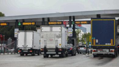 """Los transportistas amenazan con un """"paro nacional"""" si se implanta el peaje """"sin consenso"""" a las carreteras"""