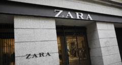 El primer local de Zara que abrió en la capital junto a la Puerta del Sol, en Madrid.