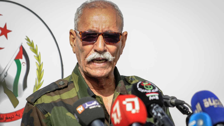 El líder del Frente Polisario y presidente de la República Árabe Saharaui Democrática (Rasd), Brahim Gali, en una imagen de archivo.