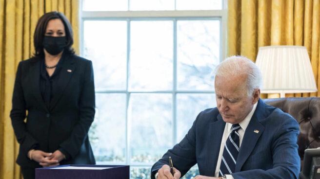 El presidente de EEUU, Joe Biden, y la vicepresidenta, Kamala Harris.