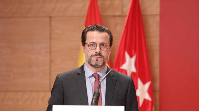 El consejero de Hacienda en la Comunidad de Madrid, Javier Fernández Lasquetty.