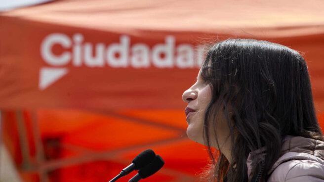 Inés Arrimadas, en un acto de Ciudadanos.