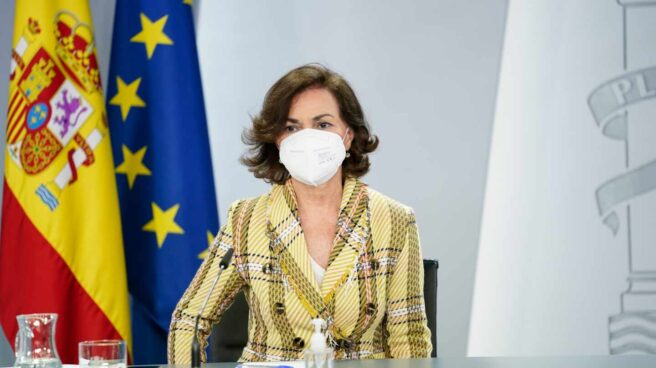 Carmen Calvo, la semana pasada en Consejo de Ministros