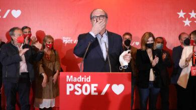 La debacle electoral tensiona a los socialistas madrileños y pone a Gabilondo en la diana