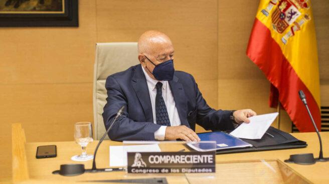 Marcelino Martín Blas, durante una comparecencia en el Congreso de los Diputados.