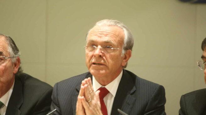 Isidro Fainé, presidente de Criteria Caixa durante un evento realizado en Madrid de la CECA