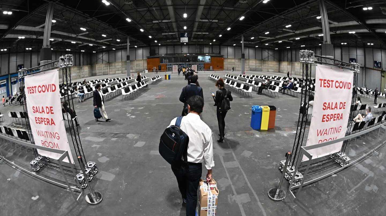 En IFEMA se ha habilitado un pabellón para realizar pruebas COVID para los asistentes a FITUR