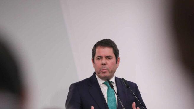El presidente de la Confederación Española de la Pequeña y Mediana Empresa Cepyme, Gerardo Cuerva, en una rueda de prensa. Foto de archivo.