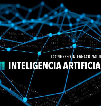 Cartel del en el 1 Congreso Internacional de Inteligencia Artificial 2018 Alicante