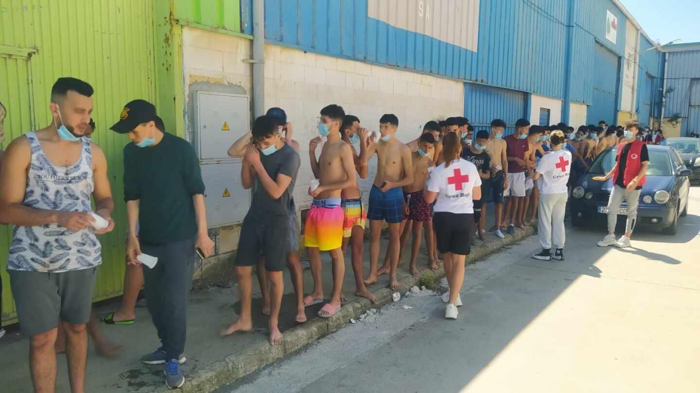 Más de 5.000 personas entran a nado en Ceuta en una crisis migratoria sin precedentes