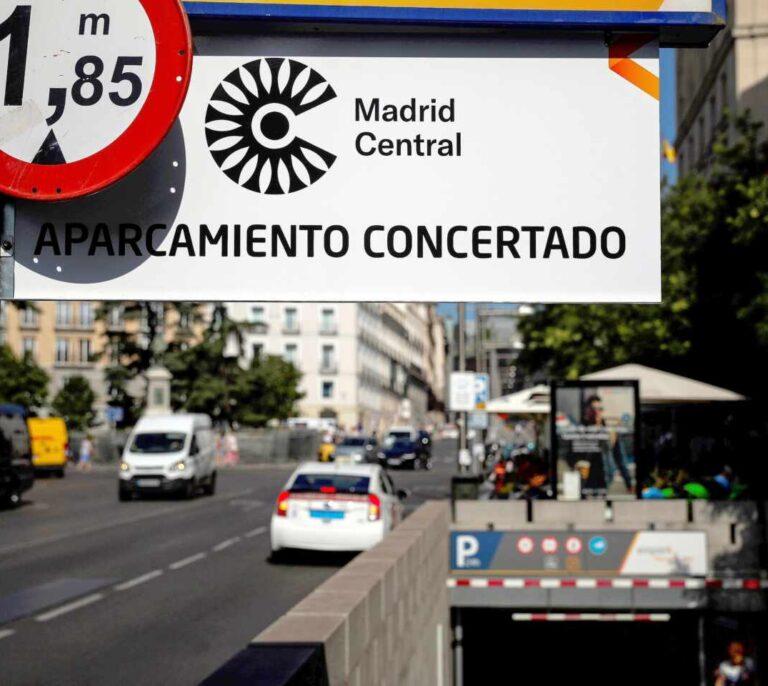"""El Ayuntamiento defiende que Madrid Central """"sigue en vigor"""" pero las nuevas multas quedan en el aire"""