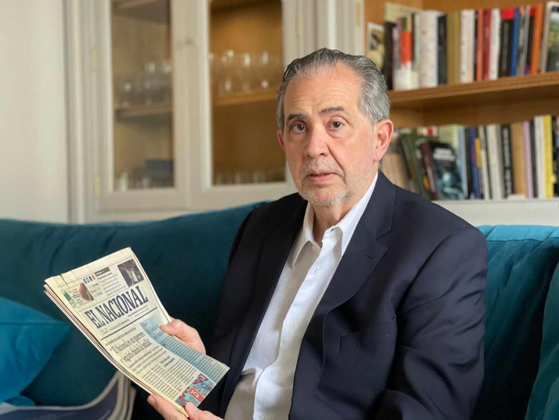 Miguel Henrique Otero, presidente editor del diario venezolano 'El Nacional'