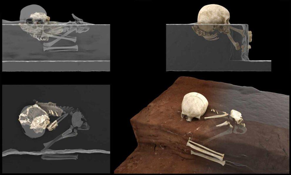 En los laboratorios del CENIEH se han realizado análisis 3D de los huesos de Mtoto.