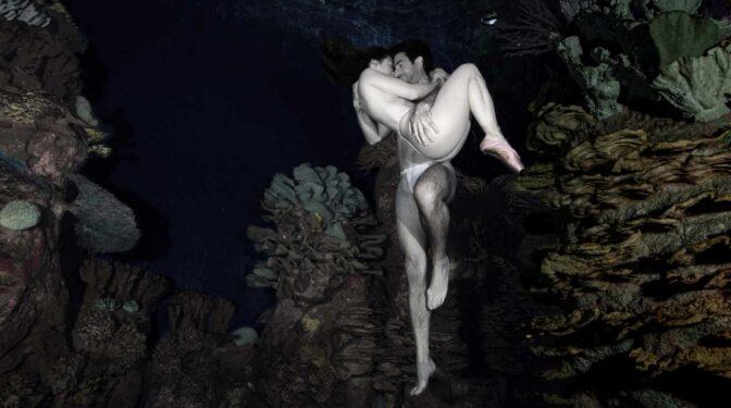 'Somos agua', el mensaje de la fotógrafa Isabel Muñoz y Ai Futaki, la mujer pez