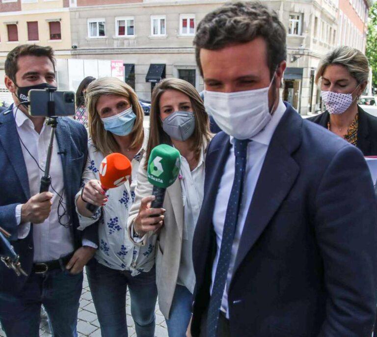 """Casado advierte que la legislatura """"habrá acabado"""" si Sánchez acepta indultar a los presos del 'procés'"""