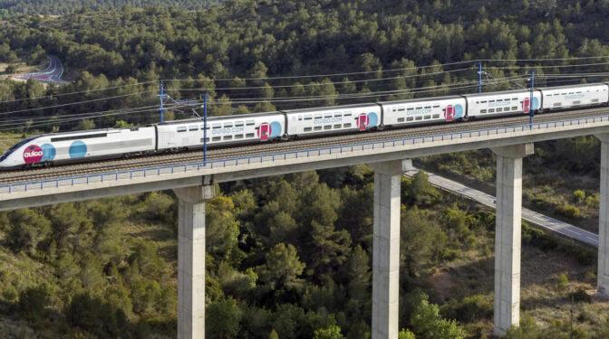 Así son los trenes franceses que harán la competencia a Renfe desde este lunes
