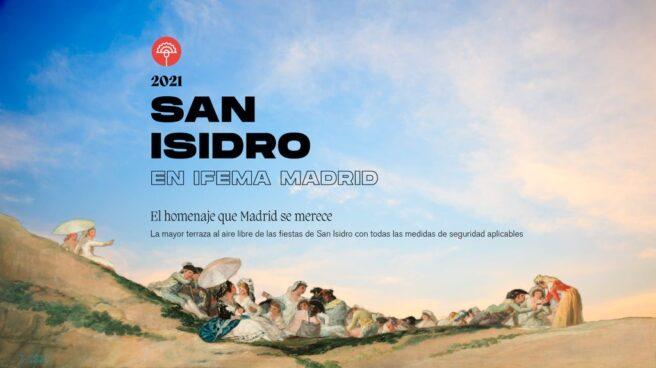 Cartel de la Feria de San Isidro que se celebrará este fin de semana en IFEMA