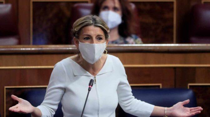 Díaz promete que rendirá cuentas si este año no está derogada la reforma laboral