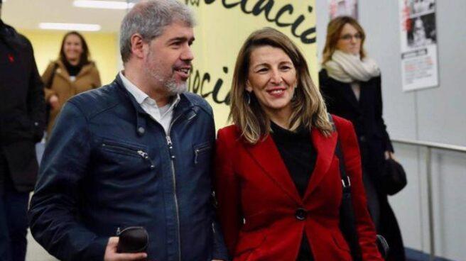 Unai Sordo y Yolanda Díaz