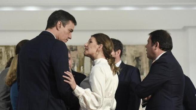 Pedro Sánchez y Yolanda Díaz